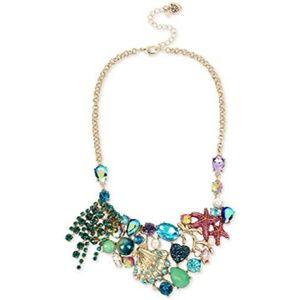 Betsey Johnson seashell necklace